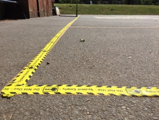 Playground tape