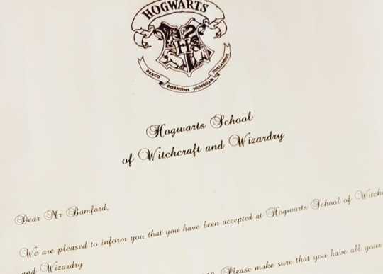 hogwarts letter 2