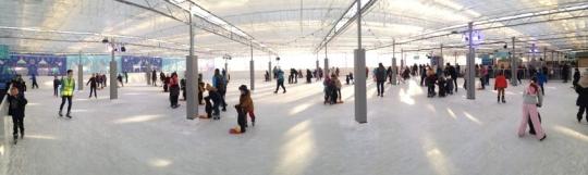 ice skating fogs