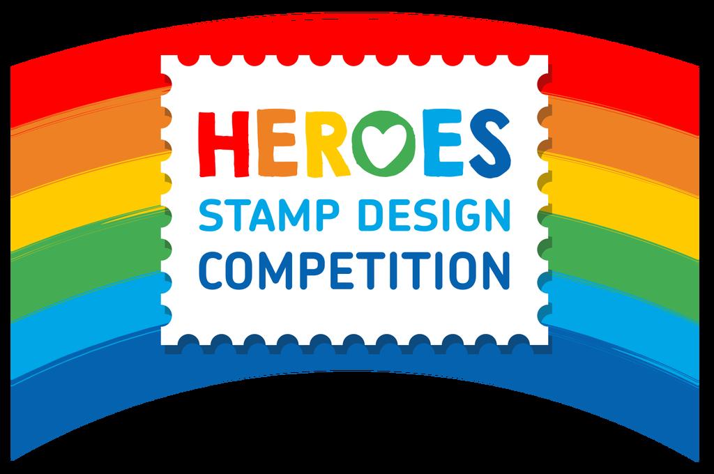 heroes stamp design